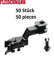 Fleischmann H0 386516 PROFI-Schlitzkupplung (6516) 50 Stück NEU + OVP