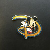 WDW - Where Dreams Come True - Disney D - Mickey Mouse - Disney Pin 49929