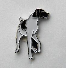 ENGLISH POINTER DOG SHORT TAIL LAPEL PIN BADGE 1 INCH