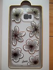 Sonix Clear Coat Delphine Flower Clear Back Case Shock Absorbent Galaxy S7 Edge