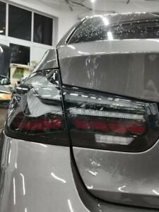 BMW OLED M4 CS GTS Style Rear Tail Smoked Tinted Black Lights Lamps - M3 F80