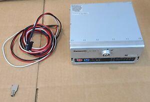 Panasonic Arbitrator Video Processing 360d recording + Power cable + Key WJ-VR30