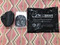 Alien Gear Holsters Cloak Mod OWB Paddle Holster CZ P-09