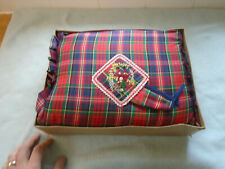 Scottish Royal Stewart Tartan Tea Cosy Frae Bonnie Scotland Mint With Box