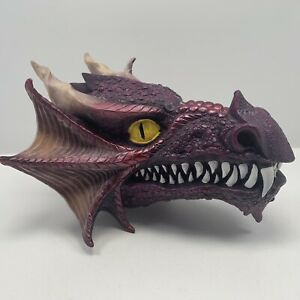 Mythical Fire Breathing 8 Inch Dragon Bust Incense Burner Gothic Fantasy Statue