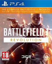 Sony Play Station Battlefield 1 Revolution PS4 Game Brand New & Sealed