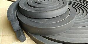 140cm Moosgummi EPDM Vierkantprofil 30x20mm als Meterware Gummidichtung Dichtung