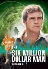 Lee Majors - Six Million Dollar Man Complete Season 3 & Reg 1