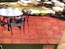 Eucalyptus 6 Slat Snapping Deck Tiles Outdoor Flooring Interlocking Box Of 10