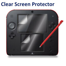 Clear LCD Shield Screen Protectors Guard Top+Bottom for Nintendo 2DS  Console SO