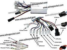 Controleur de Tension Eco/ Turbo 1000 Watts 36 Volts Trottinette