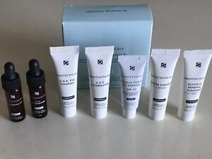 LOT SkinCeuticals Various Travel Sample Mini size Serum Cream YOU GET ALL 7 NEW