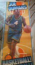 Joe Dumars Detroit Pistons Basketball 8' Door Poster 1990's Little Caesars