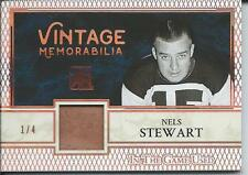2017 Leaf ITG In The Game Used  NELS STEWART Vintage Memorabilia 1/4 #VM1-25