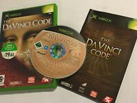 ORIGINAL XBOX GAME THE DAVINCI CODE +BOX & INSTRUCTIONS COMPLETE PAL