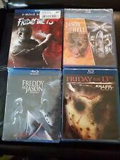 Friday The 13Th Set Jason goes to hell Jason X Freddy Vs Jason Killer Cut bluray