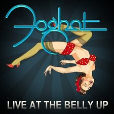 FOGHAT - LIVE AT THE BELLY UP (DIGIPAK)   CD NEW!