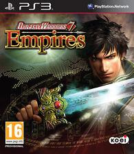 Dinasty Warriors 7: Empires -   PS3  NUOVO SIGILLATO [PS31209]