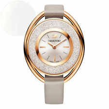 SWAROVSKI Crystalline Rose Gold-tone Brown Leather Strap Ladies Watch