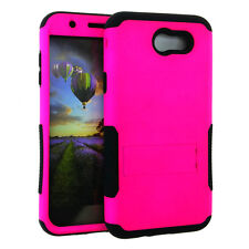 for Samsung Galaxy J7 Emerge | 2017 | V  - Hybrid Silicone Cover Case - Color
