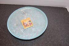 "Exquisite Turkish ""Turkish Delights"" Art Glass Decorative Plate"
