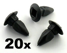 20x Audi Plastic Nut Grommet for Bumpers, Wings, Wheel Arches, Linings & Panels