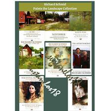 Richard Schmid OIL PAINTING 8 DVD Collection MASTER BUNDLE Landscape Still Life