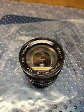 Star-D No. 410782 Lens Coated Optics  62 1:2.8  F=28mm