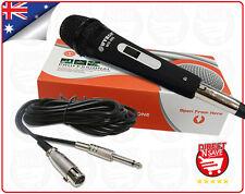 Wired Dynamic Microphone Hi-fidelity Unidirectional Mic Precision Audio WG-988