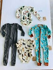 18M NEW Earthy Organic Cotton Baby Boys Clothes Manufacturer 2nds LOT U