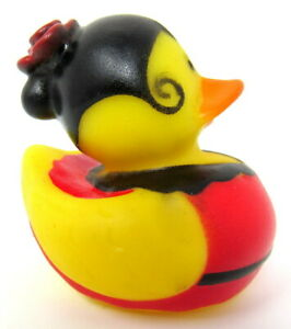 "Spanish Rubber Duck Spain Costume 2"" International Ducky Squirter Dancer"