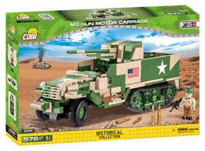 Cobi 2535 - M3 Gun Motor Carriage (576pcs) - Building Blocks - US Army - WWII