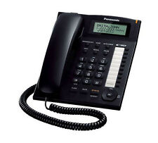 Panasonic KX-TS880B Single Line Corded Office Telephone One-Touch Dialer
