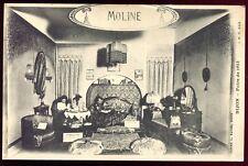 """cpa 21 Dijon Foire de 1923 """" Moline """" tapissier.exposant ( Côte D'Or ) Bourgogne"""