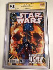 CGC 9.8 SS Star Wars #1 signed by Alex Ross & Brian Wood 2013 Dark Horse