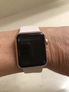 apple watch series 1 38mm band rose gold Pink Band Beautiful Inexpensive