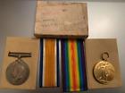 WW1 British War & Victory Medal Pair B.R.C.& St.J.J - Leonard Cyril Forster