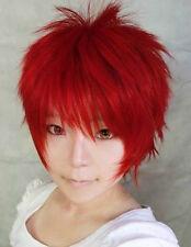 Kuroko no Basuke Basketball Akashi Naruto Gaara Cosplay Perücke wig kurz rot red