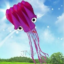 5M HUGE FLYING OCTOPUS PARAFOIL KITE W/ HANDLE & STRING OUTDOOR PARK BEACH FUN