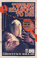 Black Mask Twelve Reasons to Die #1 Tour Variant, Wu Tang Clan, Brave New Worlds