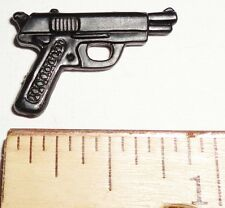 BIN B30 G I JOE Accessory      Black 9mm Pistol  (Various Figures)
