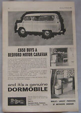 1963 Bedford Camper vans Original advert