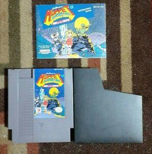 Muppet Adventure + Manual (Nintendo NES System 1990) VG Shape & Tested