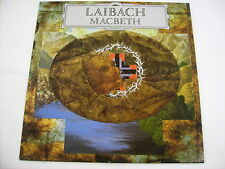 LAIBACH - MACBETH - LP VINYL LIKE NEW CONDITION 1989 UK PRESS