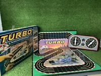 Turbo - MB Games Vintage Family Board Game Racing Game Complete