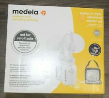 Medela Pump In-Style Advanced Starter Set Breast Pump With Box and Accessories