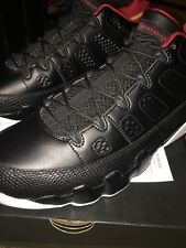 Jordan IX 9 Retro Low BRED BLACK GYM RED WHITE 832822-001 sz 11.5