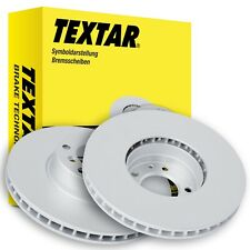 TEXTAR Bremsscheiben 92082205 VW Polo (6R_) 256mm VORN belüftet