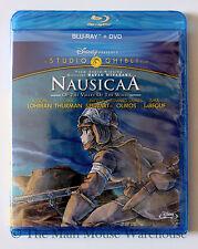 Studio Ghibli NausicaÄ Nausicaa Blu DVD Uma Thurman Patrick Stewart Shia LaBeouf