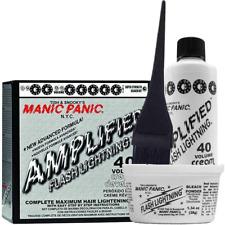 Manic Panic Flash Lightning Hair Bleach Kit 40 Volume Cream Developer